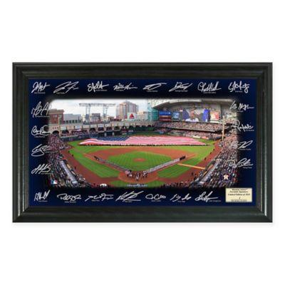 MLB Houston Astros 2016 Signature Field