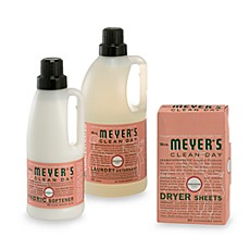 Mrs. Meyer's® Clean Day Aromatherapeutic Geranium Laundry Cleaning Products
