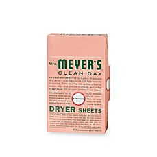 Mrs. Meyer's® Clean Day Aromatherapeutic Geranium 80-Pack Dryer Sheets