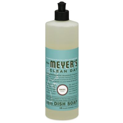 Mrs. Meyer's® Clean Day Basil 16-Ounce Liquid Dish Soap