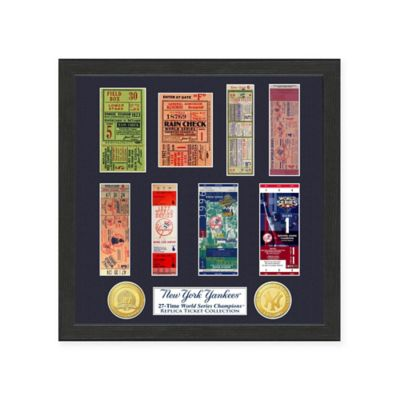 MLB New York Yankees World Series Ticket Collection