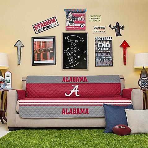 University Of Alabama Sofa Cover Www Bedbathandbeyond Com