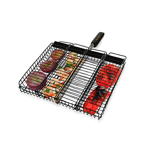 Steven Raichlen Non-Stick Rectangular Compartment Basket