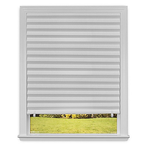 Redi Shade 36-Inch x 72-Inch Cordless Paper Window Shade in White