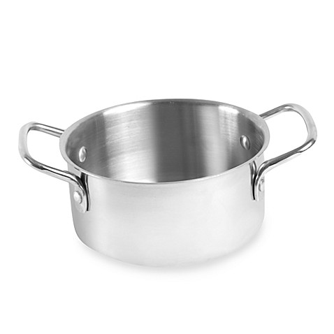 Stainless Steel Bean and Sauce Pot
