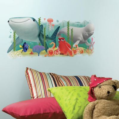 Finding Dory Friends Peel and Stick Giant Wall Decal