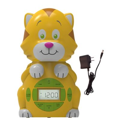 Big Red Rooster® Cat Projection Alarm Clock