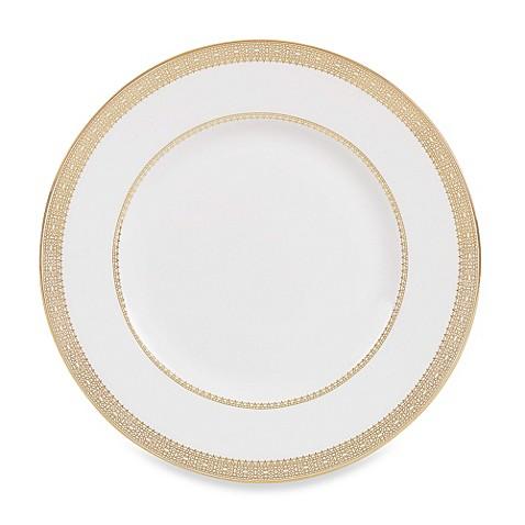 Vera Wang Wedgwood® Vera Lace Gold 9-Inch Accent Plate
