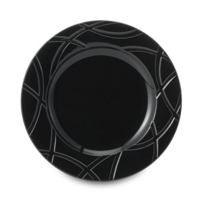 Black Accent Plate