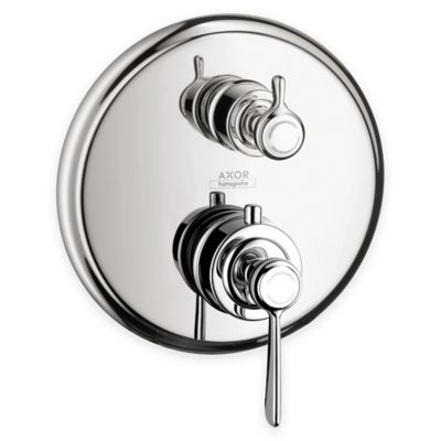 Axor Montreux Thermostatic Trim with Volume Control and Diverter in Chrome