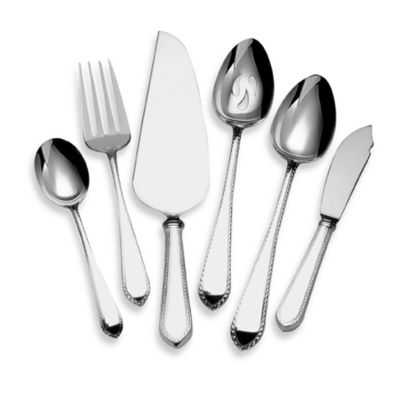 Lunt Silversmiths Homes Sterling Silver 6-Piece Hostess Set