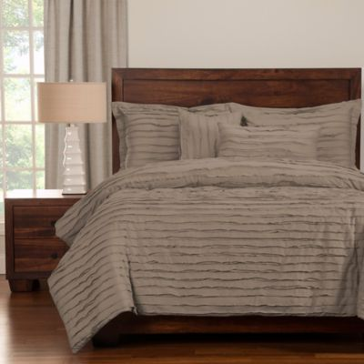 Grey Solid Duvet Covers