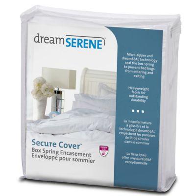 dreamSERENE® Secure Sleep Full Box Spring Encasement