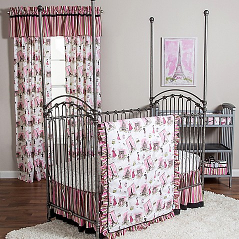Waverly 174 Baby By Trend Lab 174 Tres Chic 3 Piece Crib Bedding