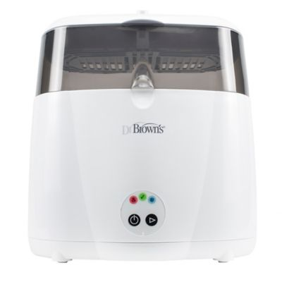 Dr. Brown's® Deluxe Electric Steam Bottle Sterilizer in White/Grey