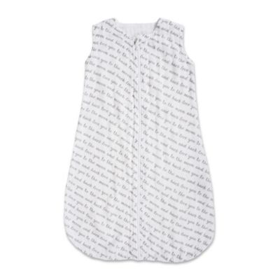 Bebe au Lait® Size 6-12M Love Muslin Full-Zip Wearable Blanket