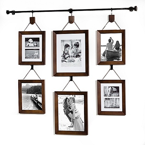 Wall Solutions Hanging Wall Gallery Bed Bath Beyond - wall hanging photo frames designs