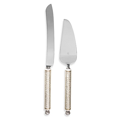 kate spade new york June Lane™ 2-Piece Cake Knife and Server Set