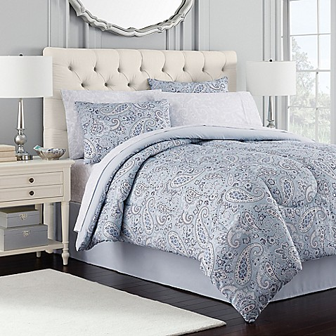 Royal Ascot Comforter Set In Blue Www Bedbathandbeyond Com