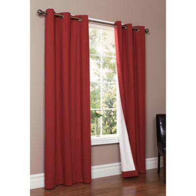 Thermalogic® Weathermate 54-Inch Grommet Top Window Curtain Panel Pair in Burgundy