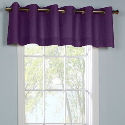 Aubergine Window Treatments