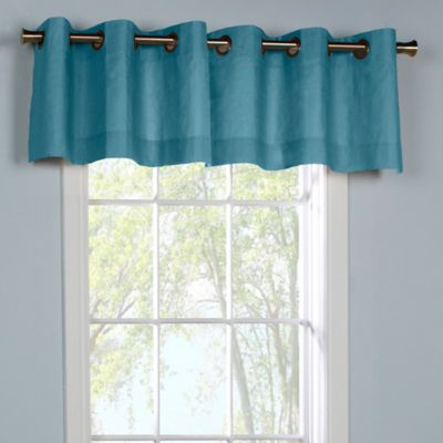 Buy Teal Valances From Bed Bath Amp Beyond