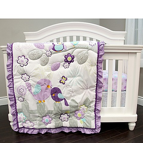 Baby S First By Nemcor Love Birds Crib Bedding Collection