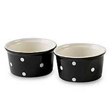 Spode® Baking Days 4-Inch Ramekins in Black (Set of 2)