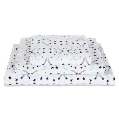 Moon and Stars Bed Sheets