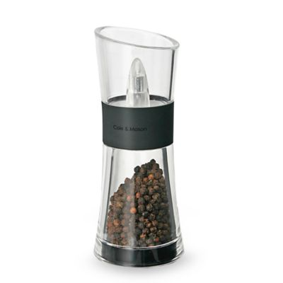 Cole & Mason Black in verta Flip Pepper/Salt Mill