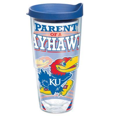 Tervis® University of Kansas Parent of a Jayhawk 24 oz. Wrap Tumbler with Lid
