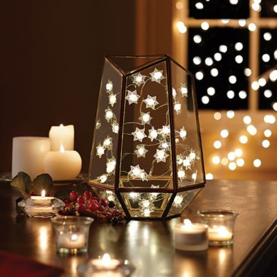 10-Foot Snowflake LED String Light - Bed Bath & Beyond