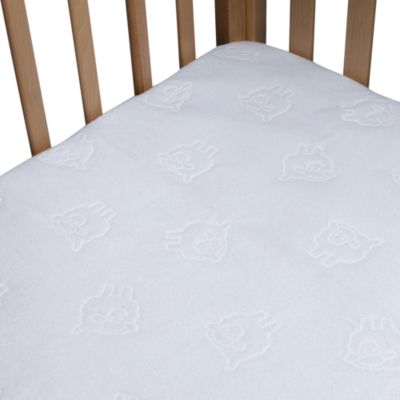 bb Basics Waterproof Fitted Crib Pad