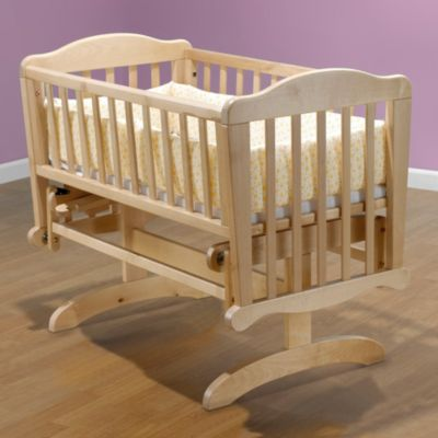 Dondola Cradle in Natural Wood by Sorelle