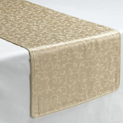 Lenox® Opal Innocence™ Ivory 70-Inch Decorative Table Runner