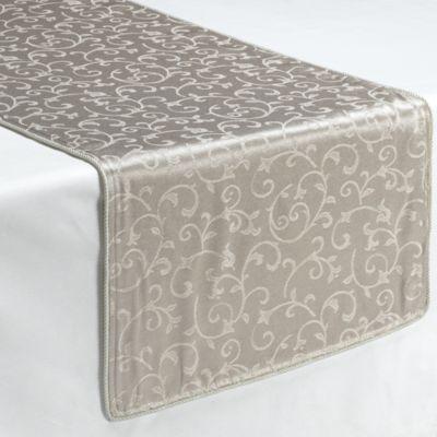 Lenox® Opal Innocence™ Platinum 90-Inch Decorative Table Runner