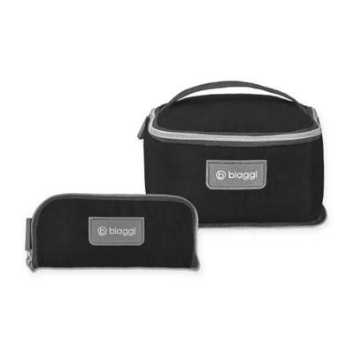 Biaggi ZipSak™ Micro-Fold Travel Essentials Bag in Black