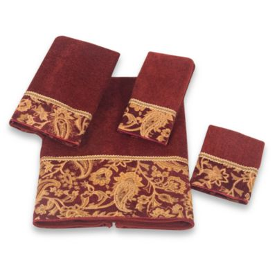 Avanti Arabesque Fingertip Towel