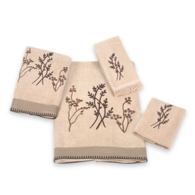 Avanti Laguna Fingertip Towel in Linen