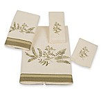 Greenwood Fingertip Towel in Ivory