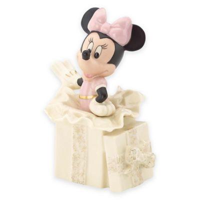Lenox® Disney Minnie's Surprise Gift Figurine