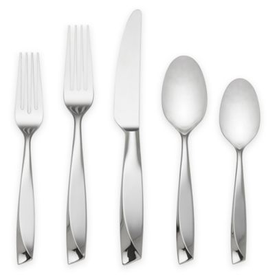 Lenox® Ondine 5-Piece Place Setting in Silver
