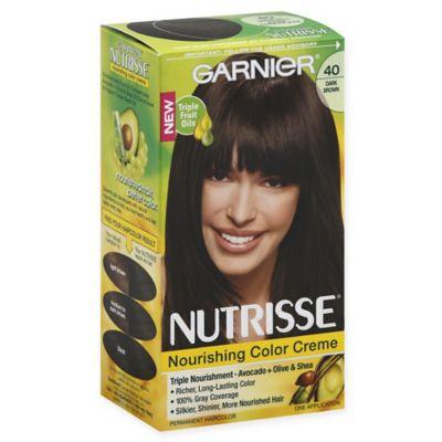 Garnier® Nutrisse® Nourishing Color Crà me in 40 Dark Brown