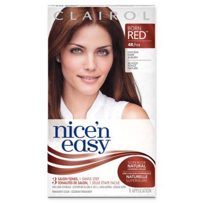 Clairol® Nice 'n Easy Permanent Hair Color 4R/112 Natural Dark Auburn