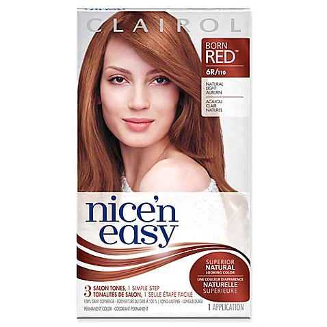 Buy Clairol 174 Nice N Easy Permanent Hair Color 6r 110