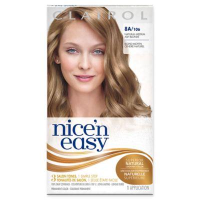 Clairol® Nice 'n Easy Permanent Hair Color 8A/106 Natural Medium Ash Blonde