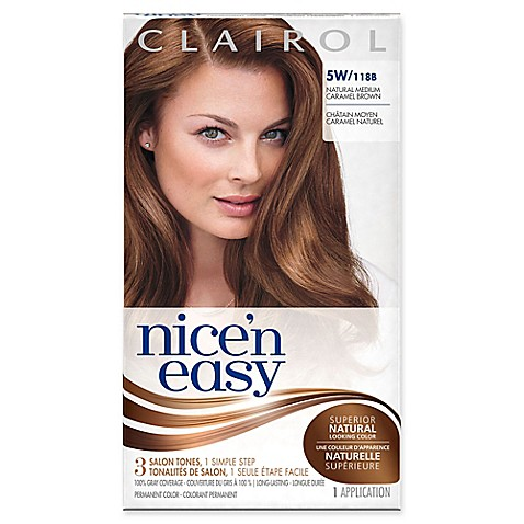buy clairol174 nice n easy permanent hair color 5w118b