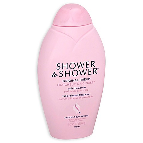 shower to shower 13 oz original fresh absorbent body shower to shower body powder original fresh 13 oz pack of