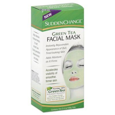 Sudden Change® 3.4 oz. Green Tea Facial Mask