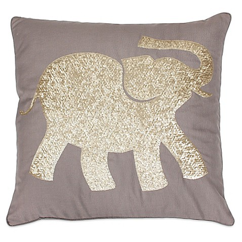 Elephant Throw Pillow Bed Bath And Beyond : Thro Elazar Elephant Throw Pillow - Bed Bath & Beyond